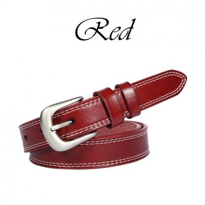 4GL Women Belt Fashion Plain Leather Belt Tali Pinggang G0701