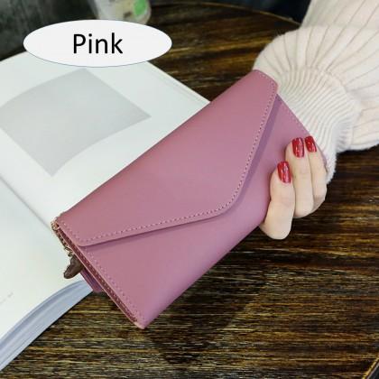 4GL Women Purse 8802 Envelope Long Purse Wallet Dompet Bag Beg A0338