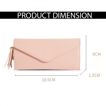 4GL 8802 Envelope Long Purse Women Purse Wallet Dompet Bag Beg A0338