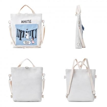 4GL Hippo Sling Bag Women Bag 3 Ways Use Tote Bag Crossbody Bag Handbag Beg A0625