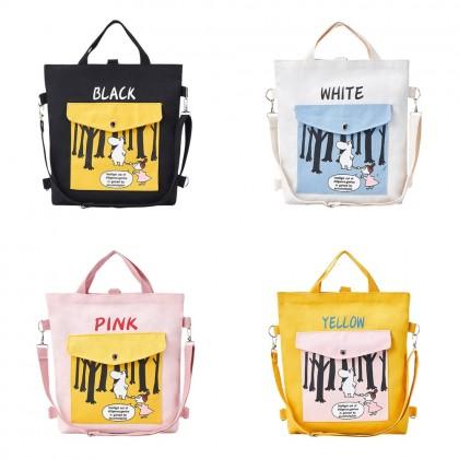 4GL Women Bag 3 Ways Use Hippo Tote Bag Sling Bag Crossbody Bag Handbag Beg A0625