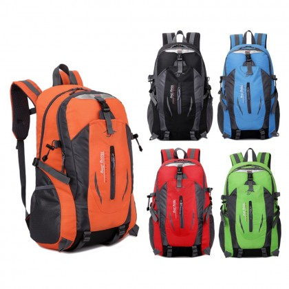 4GL KEEP WALKING 40L Backpack Bag Pack Waterproof School Bag Beg Sekolah Bag Beg