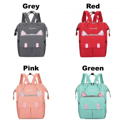 4GL MOMMY BABY Diaper Bag Large Capacity Anti Theft Bag Beg A0716