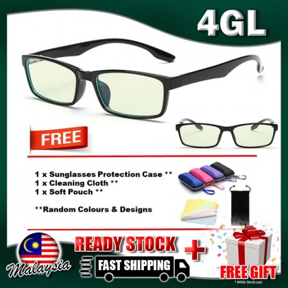 4GL Design D Glasses Anti Blue Light Eye Strain Computer Vision Eyewear