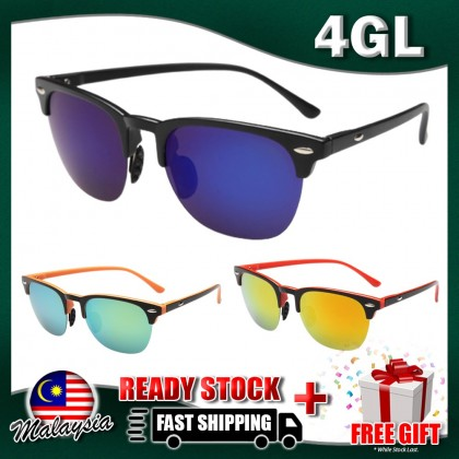 4GL Clubmaster Polarized Sunglasses Fashion Unisex Spectacles Glasses Eyeglasses