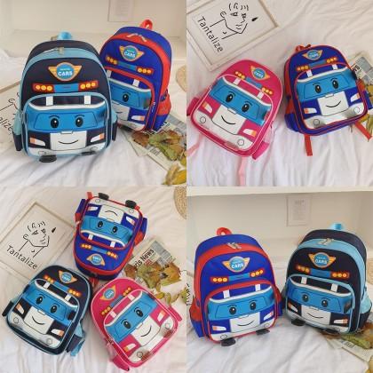 4GL Sports Cars Backpack Bag Pack School Bag Beg Sekolah Bag Sekolah