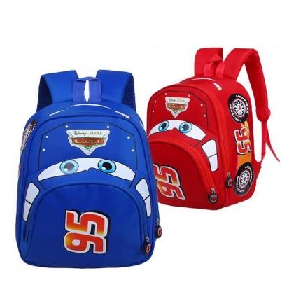 4GL Cars 95 Backpack Bag Pack School Bag Beg Sekolah Bag Sekolah