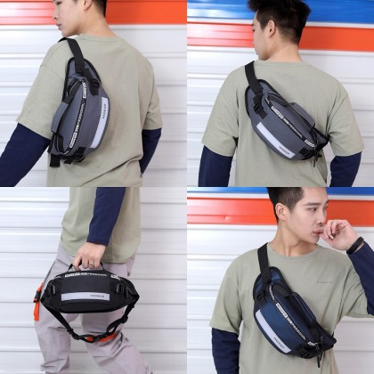 4GL HAODIER WAIST BAG Crossbody Bag Sling Bag Chest Bag Waist Pouch Beg
