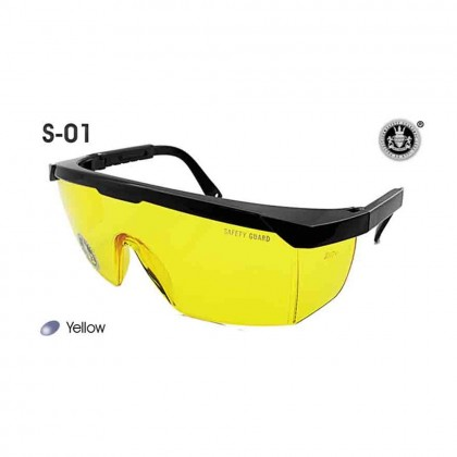 4GL Safety Guard S-01 Medical Eye Goggles Safety Protective Glasses Windproof Dustproof 100% UV Protection Eyewear