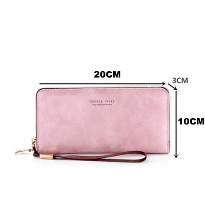 4GL Forever Young XA17B533 Long Purse Women Purse Wallet Dompet Bag Beg