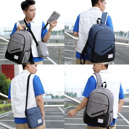4GL I Am Serious 3 In 1 Backpack Bag Pack School Bag Beg Sekolah Bag Sekolah Laptop Bag