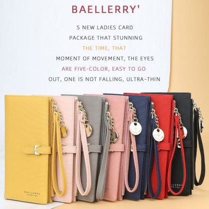 4GL Baellerry N1853 Long Purse Women Purse Wallet Dompet Bag Beg