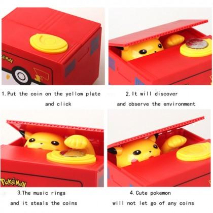 4GL Stealing Coin Piggy Bank Saving Bank Money Box Coin Box Toys Toy Tabung Mainan Budak